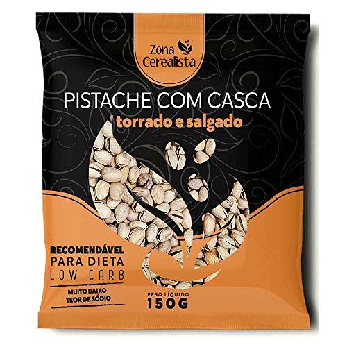 Pistache Torrado e Salgado Zona Cerealista 150g