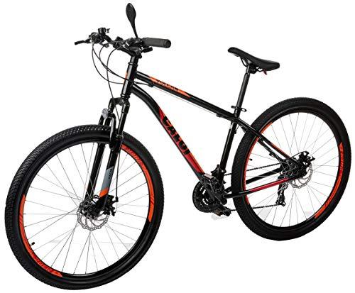 Bicicleta Caloi Vulcan Aro 29 com 21 Velocidades, Preto