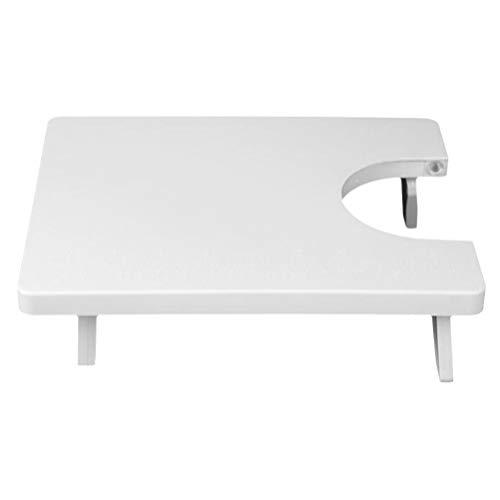 EXCEART Mini Tabela de Extensão Placa de Extensão Portátil Mesa Mesa de Plástico para a Máquina De Costura Acessórios 25X20cm