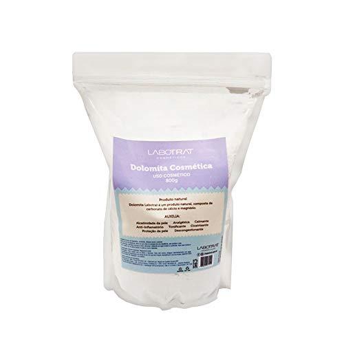 Dolomita Pó Analgésica Calmante Natural Pele Pré-Depilatória Anti-inflamatório Tonificante Carbonato Calcio Magnesio 880g Labotrat