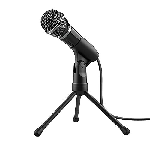 Microfone Streamer Starzz com Tripé - PC e Laptop - 21671 - Trust