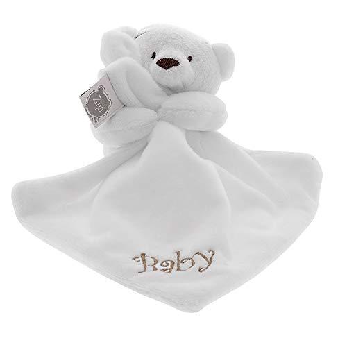 Mini Blanket Urso, Zip, marfim