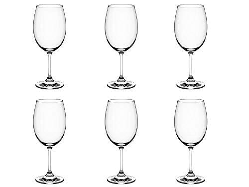 Taça Para Vinho Tinto Sense 450ml Haus Concept 20, 7 X 8, 6 Cm Haus Concept Transparente No Voltagev