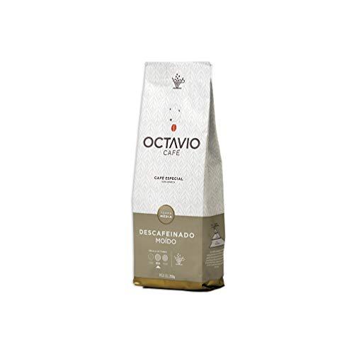 Café Torrado e Moído Descafeinado Tm Octavio Café 250g