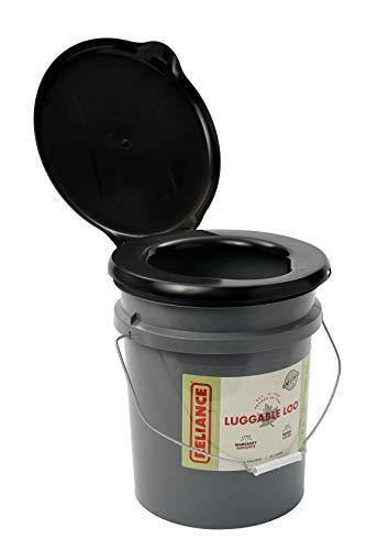 Reliance Products Loo portátil para bagagem, banheiro de 1,8 litros