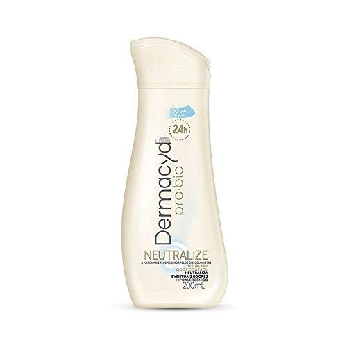 Sabonete líquido íntimo Dermacyd Neutralize 24h, 200 ml, Branco