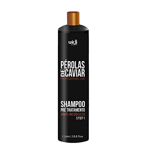Pérolas de Shampoo Profissional Pré Tratamento, Widi Care, Preto, Grande
