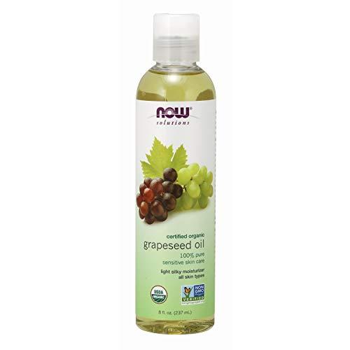 NOW Foods - NOW Solutions 100% Pure Óleo de uva orgânico - 8 fl. oz.