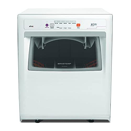 Lava Louças 8 Serviços Brastemp Compacta Branca com Ciclo Pesado - BLF08AB 220V