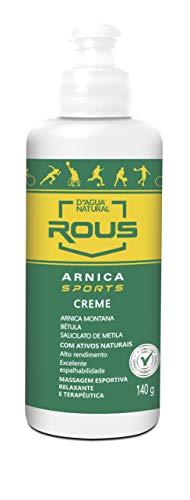 Arnica Sports Creme, D'agua Natural, 140 g