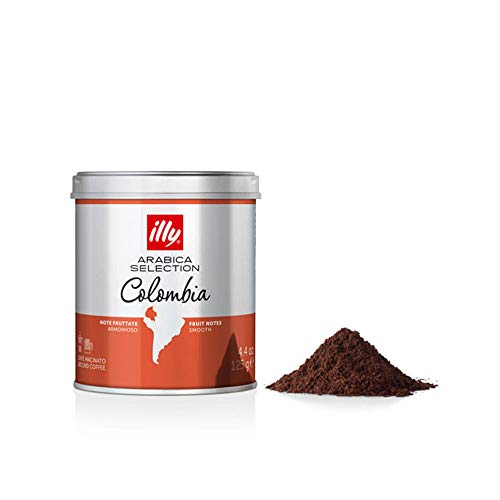 Café illy Moído Arabica Selection Colômbia - 125g