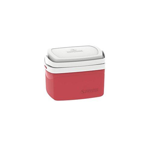 Caixa Térmica Tropical 5L, Soprano, 5060, Vermelha, Pequeno