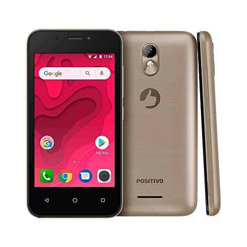 "Smartphone Positivo Twist 2 Mini S431 8GB Dual Chip 4"" - Dourado"