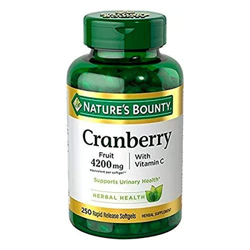 Cranberry 4200mg (250 Caps) Natures Bounty