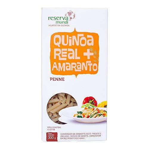 Penne de Quinoa e Amaranto Sem Glúten Mundo da Quinoa 300g