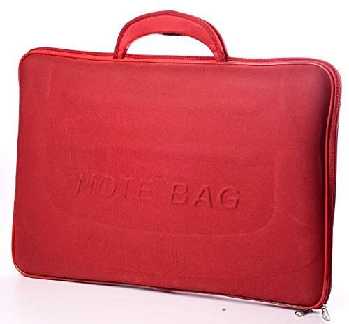 Capa Case Maleta Para Notebook 15,6 Polegadas Vermelha