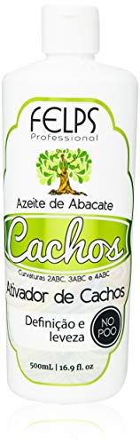 Cachos Ativador Azeite de Abacate, Felps, 500 ml