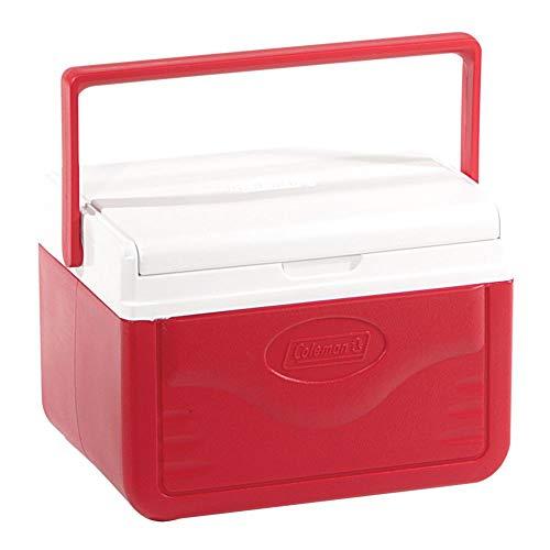 Caixa Térmica 5 QT (4,7 L), 6 Latas, Coleman, Vermelho