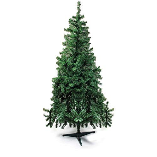 Árvore de Natal com Base Plástica, Portobelo, Verde, 100 Hastes, 90cm, Cromus