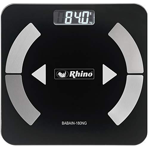 Balança Profissional de Bioimpedância digital Rhino BABAIN-180 NG SMART com bluetooth.