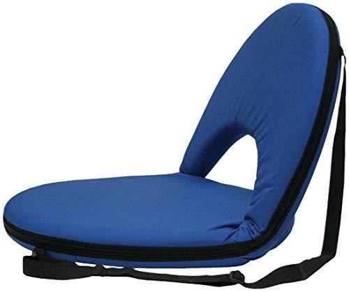 Stansport Cadeira Go Anywhere - Azul, 54,6 cm C x 52 cm L x 43 cm A