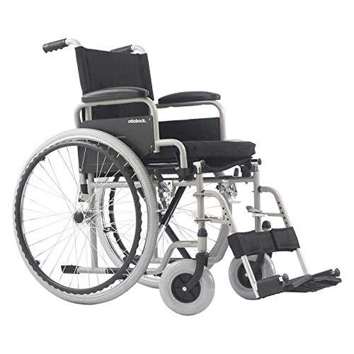 Cadeira de Rodas Manual Dobrável em Aço modelo Centro S1 - Ottobock-40 cm