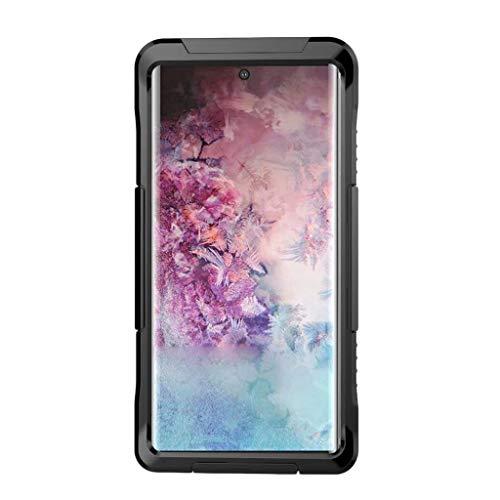 Capa à prova d'água Almencla, bolsa impermeável para celular, bolsa seca compatível com Samsung Galaxy S10 – Preta