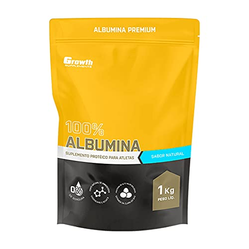 Albumina 1kg Chocolate - Growth Supplements