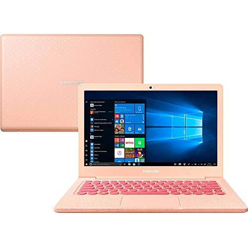 Notebook Samsung Flash F30 Intel Celeron , 4GB RAM, 64GB SSD , Tela Full HD 13.3