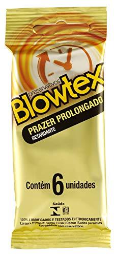 Preservativo Retardante com 6 Unidades, Blowtex