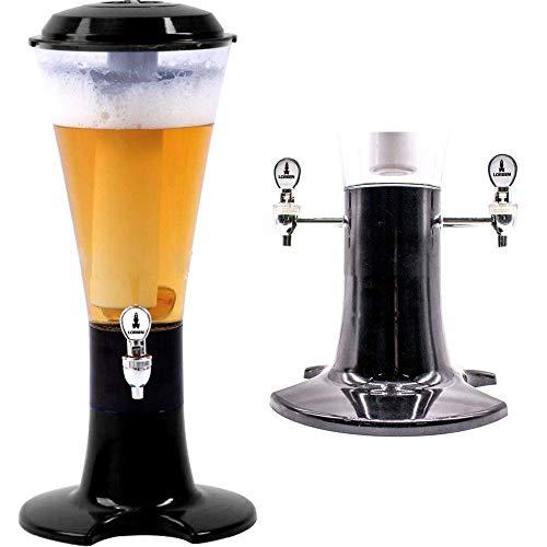 Torre Chopp Cerveja Torneira dupla Resfriador 3 Litros