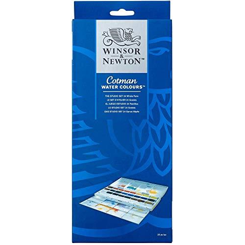 Winsor & Newton Aquarela Cotman, 24 Cores