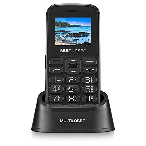 Celular Multilaser Vita com Base Dual Chip 2G Bluetooth Tela 1.8
