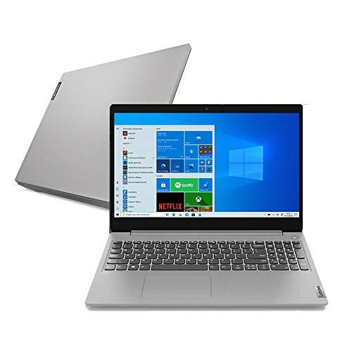 Notebook Lenovo Ultrafino IdeaPad 3i, Intel Core i5-10210U, 8GB RAM, 256GB SSD, Windows 10, 15.6