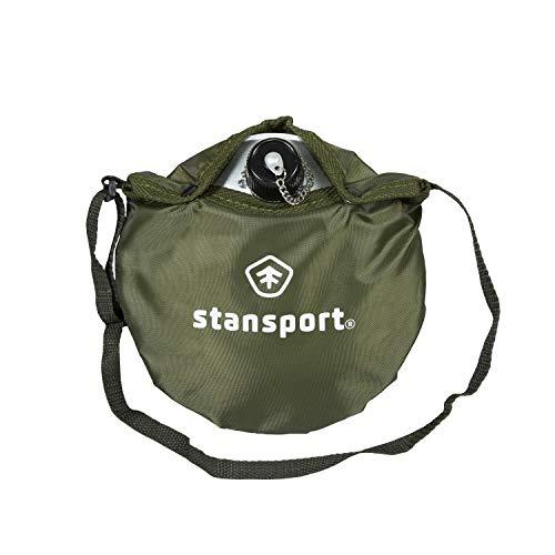Stansport — Cantil de escoteiro de alumínio, 0,3 litros