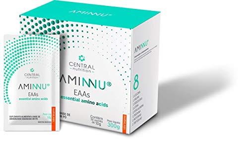 Aminnu 10g Com 30 Sachês - Central Nutrition - Sabor Tangerina