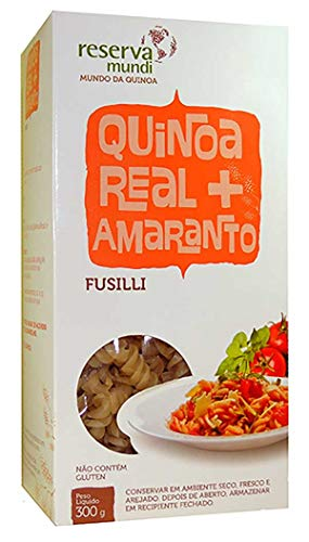 Fusilli de Quinoa e Amaranto Sem Glúten Mundo da Quinoa 300g
