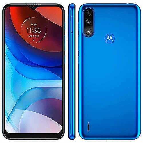 Celular Motorola Moto E7 Power Azul Metalico 32gb Tela 6.5 Cam Dupla 13mp + 2mp