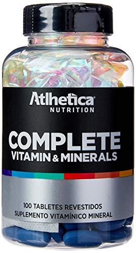 Complete Vitamin Minerals (100 Tabs), Atlhetica Nutrition