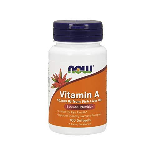 Vitamina A 10.000 IU - 100 Softgel - Now Foods