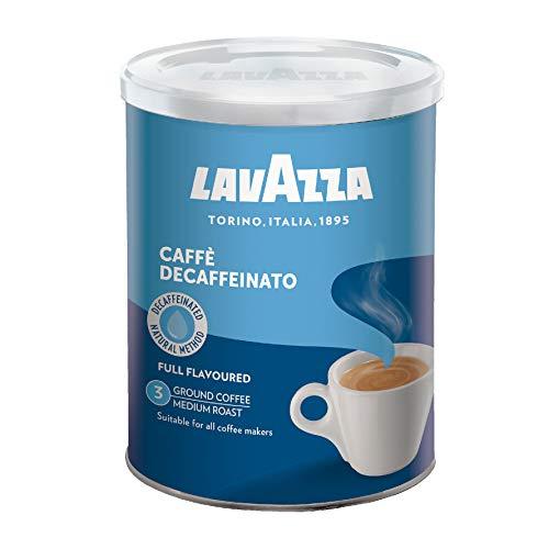 Café Torrado e Moído Decaffeinato Lavazza Lata 250g