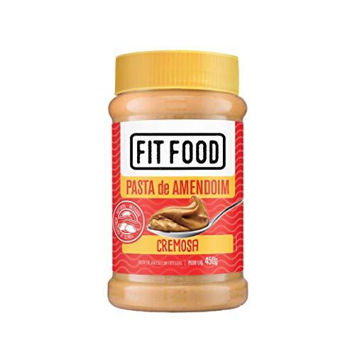 Pasta de Amendoim Cremosa Fit Food 450g