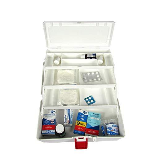 Caixa Maleta Primeiro Socorros Veterinário 3 Bandejas