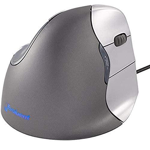 Mouse Evoluent VM4R VerticalMouse 4 para mão direita ergonômico com conexão USB com fio (tamanho normal)