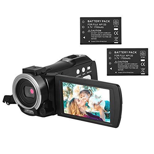 Andoer Portátil Multi-funcional 1080P FHD Filmadora Digital Video Recorder DV 24MP Suporte IR Visão Noturna Conexão Wi-Fi 16X Digital Zoom 3 Polegadas TFT Remote Control Microfone