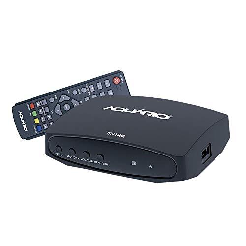 Conversor Digital Aquário Dtv-7000s Gravador Tv Digital