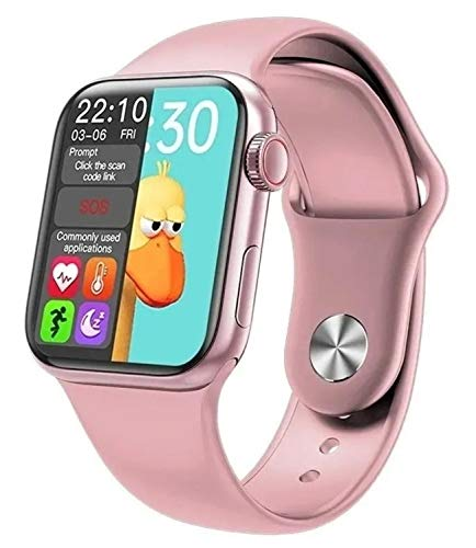 Relógio Smartwatch Inteligente Bluetooth Hw12 41mm Notificações e Ligações Ios e Android Top (Rosa)