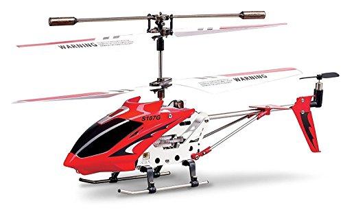 Helicóptero Aeromodelismo Syma S107G Vermelho