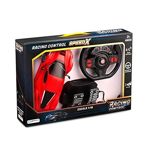 Racing Control SpeedX Multikids +3 Anos Vermelho - BR1142