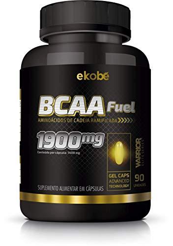 Ekobé BCAA, Aminoácidos de cadeia ramificada em cápsulas, 1400 mg